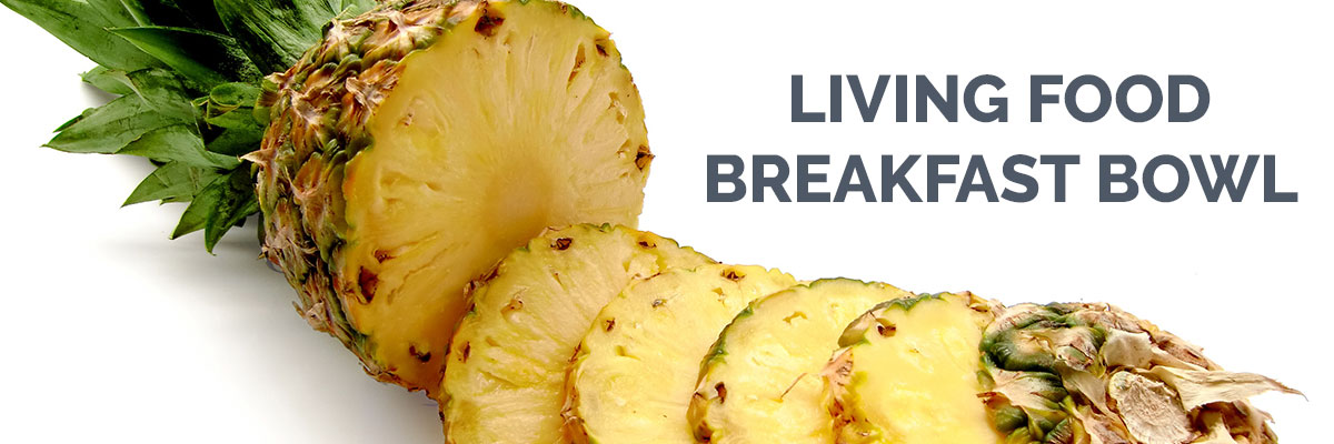 Living Food Breakfast Bowl Recipe