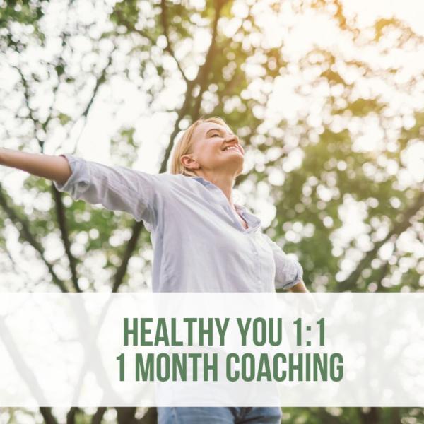 1 month coaching webshop