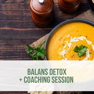 balans fall detox with coaching - webshop