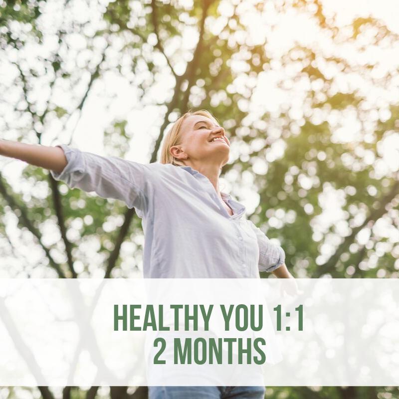 healthy you coaching 2 months - webshop